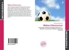 Portada del libro de Matías Villavicencio