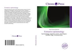 Bookcover of Formative epistemology