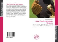 Обложка 1986 Cincinnati Reds Season