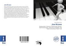 Copertina di Joe Krown