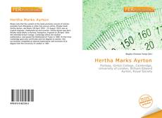 Bookcover of Hertha Marks Ayrton