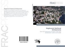Règlement National d'Urbanisme的封面