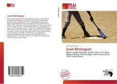 Buchcover von Juan Berenguer