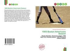 Bookcover of 1905 Boston Americans Season