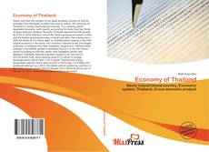 Bookcover of Economy of Thailand