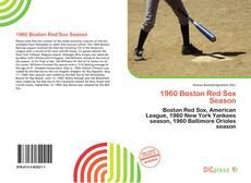 Portada del libro de 1960 Boston Red Sox Season