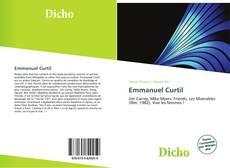 Bookcover of Emmanuel Curtil