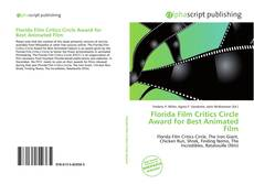 Обложка Florida Film Critics Circle Award for Best Animated Film