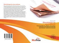 Capa do livro de Déontologie du Journalisme