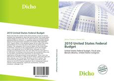 Bookcover of 2010 United States Federal Budget