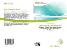 Buchcover von Querelle du panthéisme