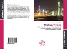 Bookcover of Macleod, Victoria