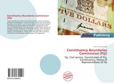 Bookcover of Constituency Boundaries Commission (Fiji)