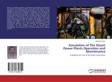 Bookcover of Simulation of The Steam Power Plants Operation and Maintenance