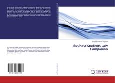 Bookcover of Business Students Law Companion