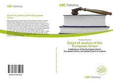 Portada del libro de Court of Justice of the European Union