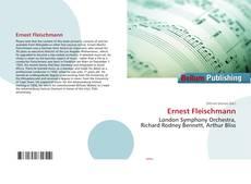 Bookcover of Ernest Fleischmann