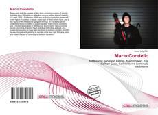 Portada del libro de Mario Condello