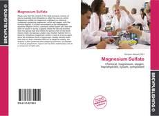Copertina di Magnesium Sulfate