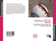 Обложка 1980 Boston Red Sox Season