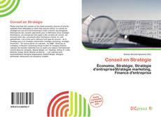 Couverture de Conseil en Stratégie