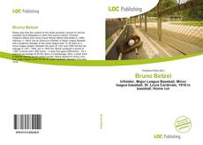 Bruno Betzel kitap kapağı
