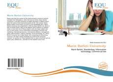 Bookcover of Marin Barleti University
