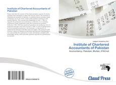 Portada del libro de Institute of Chartered Accountants of Pakistan