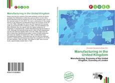 Manufacturing in the United Kingdom kitap kapağı
