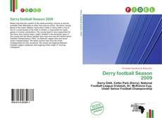 Bookcover of Derry football Season 2009