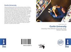 Bookcover of Curtin University