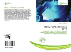 Buchcover von Derry Football Season 2010