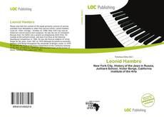 Buchcover von Leonid Hambro
