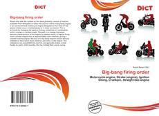 Portada del libro de Big-bang firing order