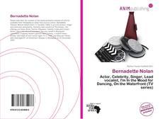 Bookcover of Bernadette Nolan