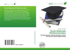 Couverture de École Nationale D'Administration