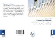 Bookcover of Economy of Yemen