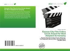 Обложка Kansas City Film Critics Circle Award for Best Adapted Screenplay