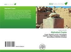 Portada del libro de Alphabet Copte