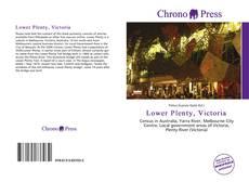 Lower Plenty, Victoria kitap kapağı