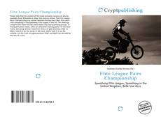 Elite League Pairs Championship kitap kapağı
