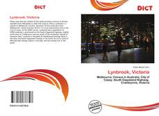 Bookcover of Lynbrook, Victoria