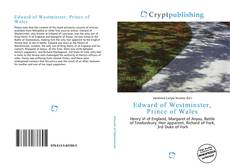 Edward of Westminster, Prince of Wales kitap kapağı