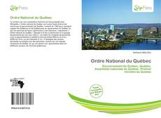 Bookcover of Ordre National du Québec