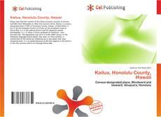Bookcover of Kailua, Honolulu County, Hawaii