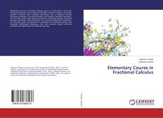 Bookcover of Elementary Course in Fractional Calculus