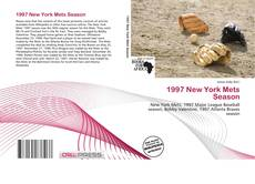 Bookcover of 1997 New York Mets Season