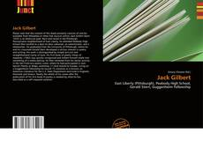 Bookcover of Jack Gilbert