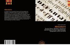Abécédaire的封面
