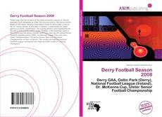 Bookcover of Derry Football Season 2008